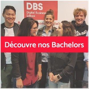 Découvre les Bachelors que propose DBS